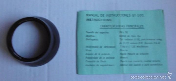 Cámara de fotos: Máquina *Falcon GT500* Sin garantías de funcionamiento. Con caja original. Ver fotos. - Foto 5 - 58291917