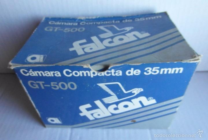 Cámara de fotos: Máquina *Falcon GT500* Sin garantías de funcionamiento. Con caja original. Ver fotos. - Foto 6 - 58291917