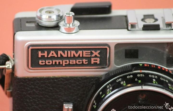 Cámara de fotos: CAMARA FOTOGRAFICA HANIMEX COMPACT R. 2 FLASHES Y TRIPODE. AÑOS 60. - Foto 3 - 117682946