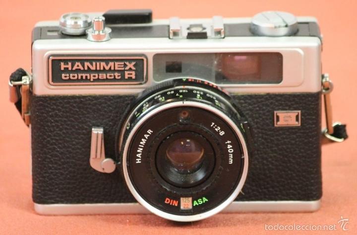 Cámara de fotos: CAMARA FOTOGRAFICA HANIMEX COMPACT R. 2 FLASHES Y TRIPODE. AÑOS 60. - Foto 13 - 117682946