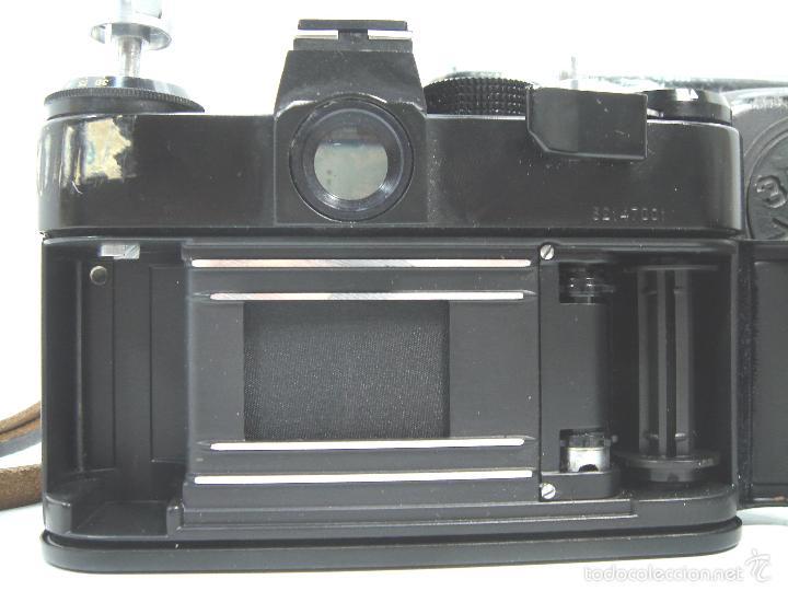 Cámara de fotos: CAMARA FOTOS REFLEX 35 MM- ZENIT 11 ONCE + OBJETIVO 2/58 44MM - URSS 1950S - 35MM - Foto 8 - 58659248