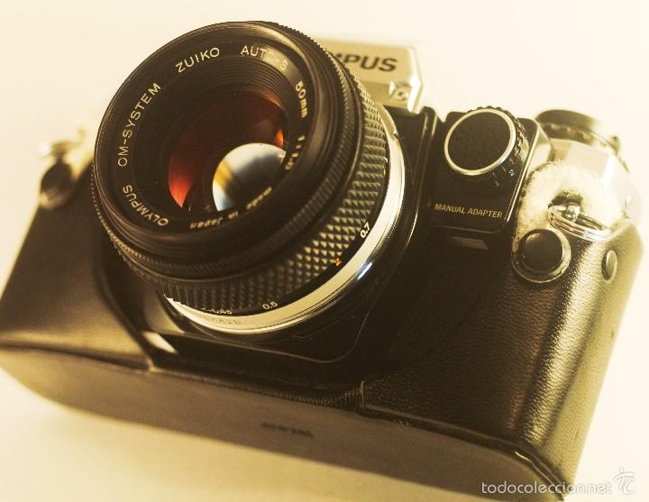 Cámara de fotos: Olympus OM-10 + objetivo Zuiko 50mm f/1,8 + adaptador manual. - Foto 2 - 58952330