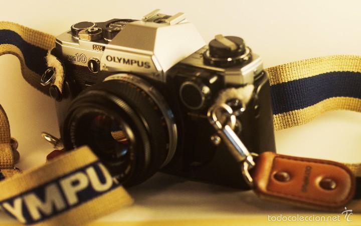 Cámara de fotos: Olympus OM-10 + objetivo Zuiko 50mm f/1,8 + adaptador manual. - Foto 3 - 58952330