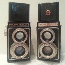 Cámara de fotos: ANTIGUAS CAMARAS FOTOGRAFICAS KODAK REFLEX I Y II DE 1946. Y 1948. DE LAS MÁS CARAS DE LA ÉPOCA. Lote 59686051