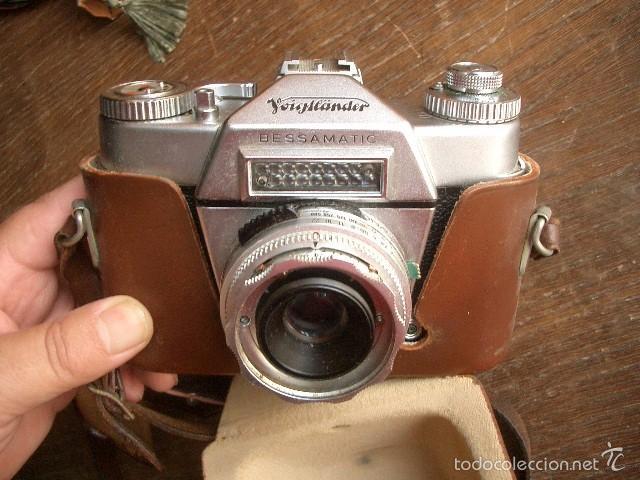 Cámara de fotos: VOIGTLANDER BESSAMATIC..ALEMANIA 1959...FUNCIONA - Foto 4 - 60154555