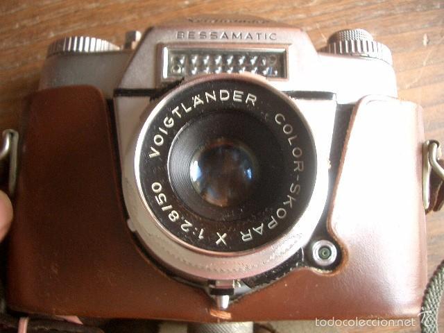 Cámara de fotos: VOIGTLANDER BESSAMATIC..ALEMANIA 1959...FUNCIONA - Foto 5 - 60154555