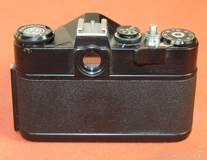 Cámara de fotos: CAMARA FOTOGRAFICA. MODELO EM. FUNDA EN CUERO. ZENIT. RUSIA. AÑO 1972/1984 - Foto 3 - 60427931
