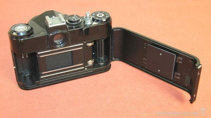 Cámara de fotos: CAMARA FOTOGRAFICA. MODELO EM. FUNDA EN CUERO. ZENIT. RUSIA. AÑO 1972/1984 - Foto 9 - 60427931