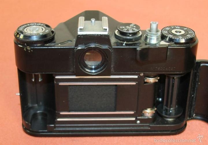 Cámara de fotos: CAMARA FOTOGRAFICA. MODELO EM. FUNDA EN CUERO. ZENIT. RUSIA. AÑO 1972/1984 - Foto 10 - 60427931