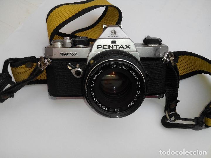 PENTAX MX, OBJETIVO PENTAX 50 MM, 1.7 (Cámaras Fotográficas - Réflex (no autofoco))