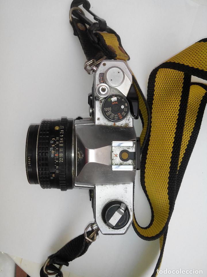 Cámara de fotos: Pentax MX, objetivo Pentax 50 mm, 1.7 - Foto 2 - 103051895