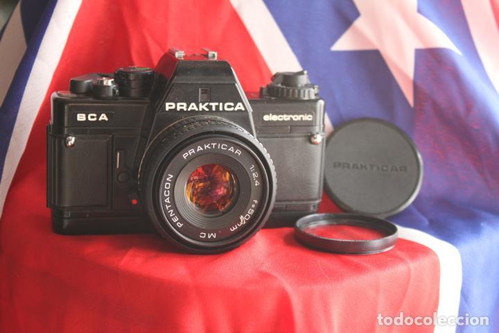 PRACTIKA BCA + 50 MM F/2,4 (PANCAKE) (Cámaras Fotográficas - Réflex (no autofoco))