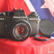 Cámara de fotos: PRACTIKA BCA + 50 MM F/2,4 (PANCAKE). Lote 63270116