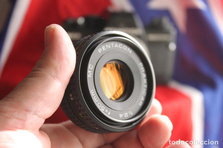 Cámara de fotos: Practika BCA + 50 mm F/2,4 (pancake) - Foto 7 - 63270116