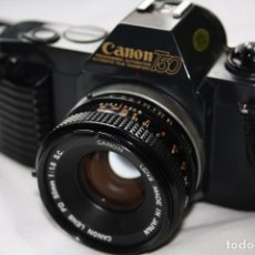 Cámara de fotos: CÁMARA RÉFLEX - CANON T50 CON OBJETIVO CANON LENS FD 50MM - 1:1.8 S.C.. Lote 89098844