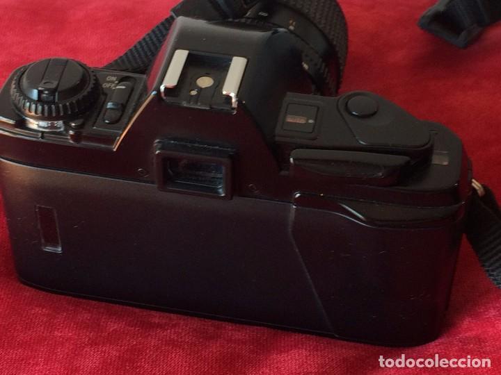 Cámara de fotos: CAMARA FOTOGRAFICA MINOLTA X-300s. CON OBJETIVO MINOLTA 28-70 MM Y FLASH - Foto 3 - 64987267