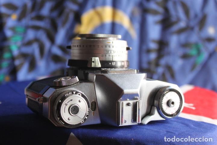 Cámara de fotos: Zeiss Ikon Contaflex Super + Funda de cuero + filtro - Foto 2 - 67029978