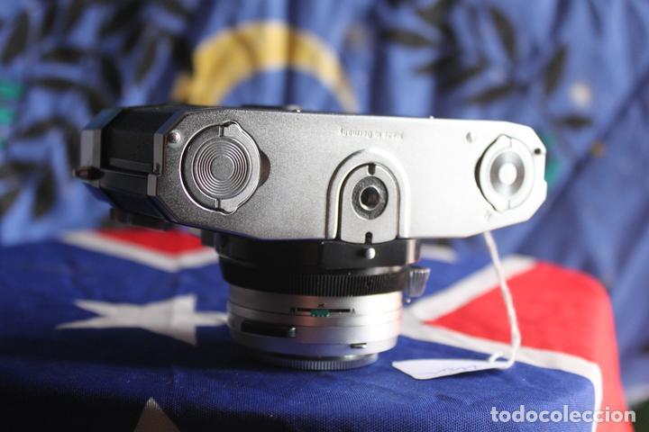 Cámara de fotos: Zeiss Ikon Contaflex Super + Funda de cuero + filtro - Foto 4 - 67029978