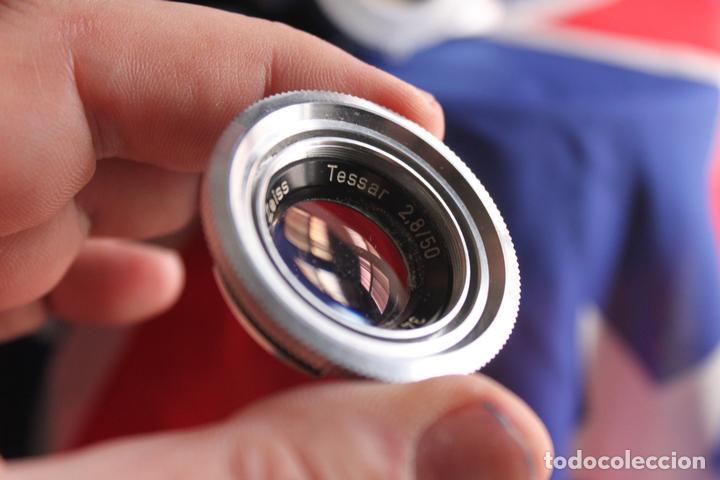 Cámara de fotos: Zeiss Ikon Contaflex Super + Funda de cuero + filtro - Foto 5 - 67029978