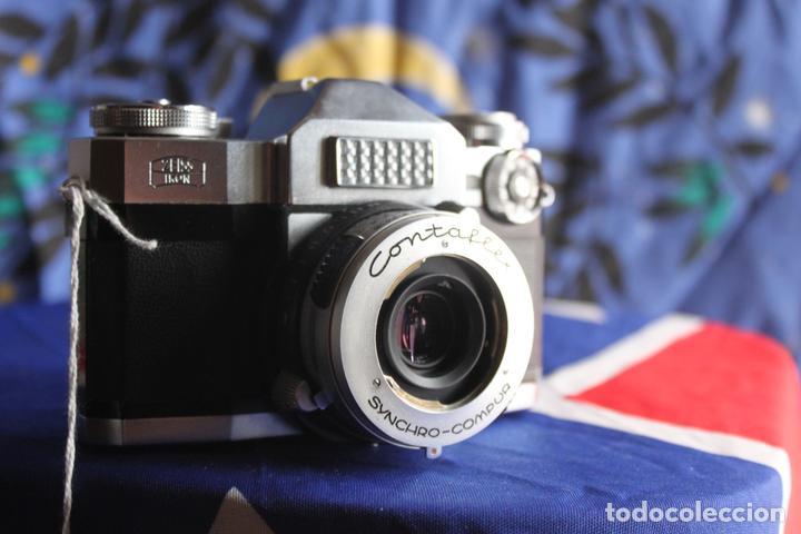 Cámara de fotos: Zeiss Ikon Contaflex Super + Funda de cuero + filtro - Foto 6 - 67029978