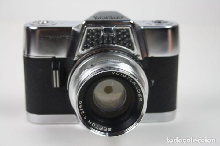 Cámara de fotos: VOIGTLANDER ULTRAMATIC - SEPTON 50 MM - SYNCHRO-COMPUR-V - AÑOS 60 - Foto 4 - 67991249