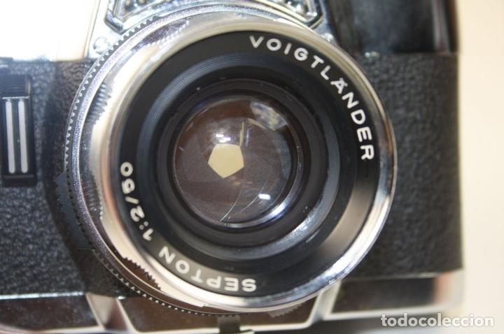 Cámara de fotos: VOIGTLANDER ULTRAMATIC - SEPTON 50 MM - SYNCHRO-COMPUR-V - AÑOS 60 - Foto 6 - 67991249