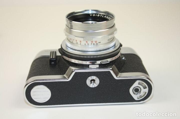 Cámara de fotos: VOIGTLANDER ULTRAMATIC - SEPTON 50 MM - SYNCHRO-COMPUR-V - AÑOS 60 - Foto 12 - 67991249