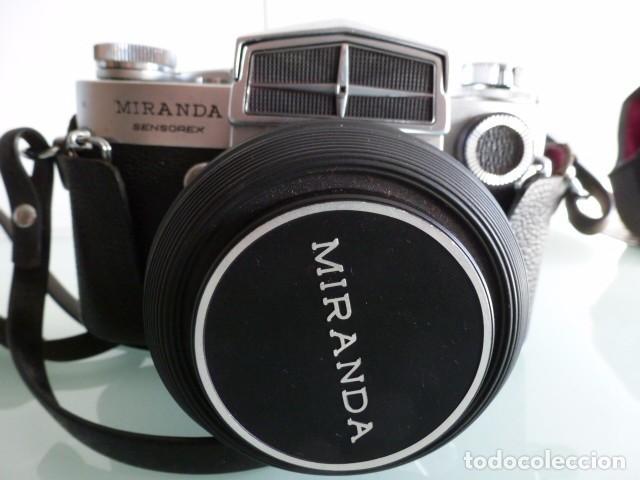 CAMARA FOTOGRAFICA MIRANDA SENSOREX, CON FUNDA.OBJETIVO AUTO MIRANDA 1:18 F=50 MM (Cámaras Fotográficas - Réflex (no autofoco))
