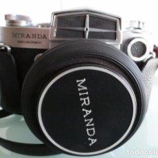 Cámara de fotos: CAMARA FOTOGRAFICA MIRANDA SENSOREX, CON FUNDA.OBJETIVO AUTO MIRANDA 1:18 F=50 MM. Lote 68827577