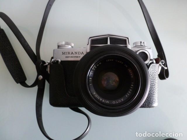Cámara de fotos: Camara fotografica Miranda Sensorex, con funda.Objetivo Auto Miranda 1:18 f=50 mm - Foto 2 - 68827577