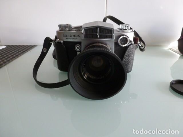 Cámara de fotos: Camara fotografica Miranda Sensorex, con funda.Objetivo Auto Miranda 1:18 f=50 mm - Foto 4 - 68827577