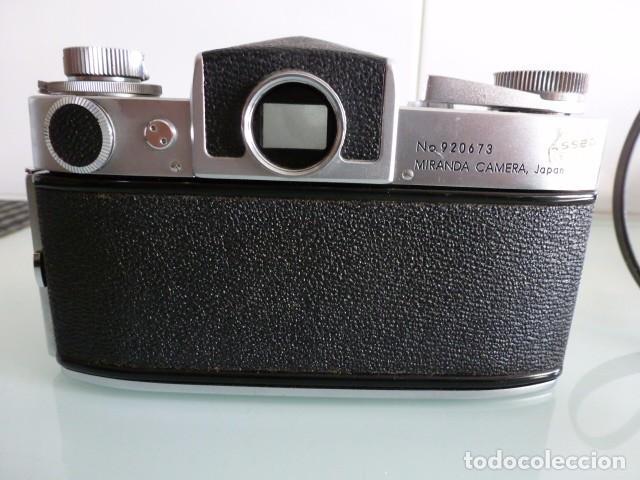 Cámara de fotos: Camara fotografica Miranda Sensorex, con funda.Objetivo Auto Miranda 1:18 f=50 mm - Foto 5 - 68827577