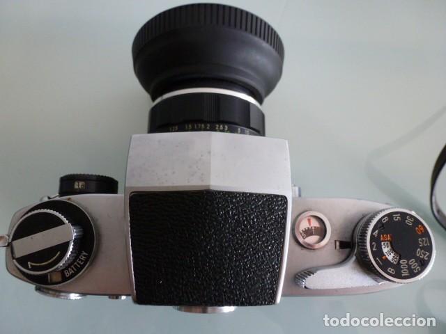 Cámara de fotos: Camara fotografica Miranda Sensorex, con funda.Objetivo Auto Miranda 1:18 f=50 mm - Foto 6 - 68827577