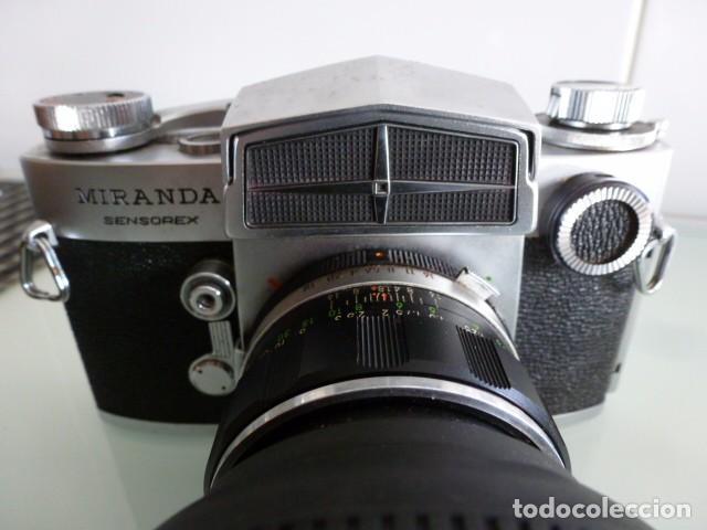 Cámara de fotos: Camara fotografica Miranda Sensorex, con funda.Objetivo Auto Miranda 1:18 f=50 mm - Foto 7 - 68827577