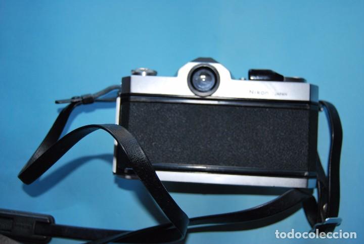 Cámara de fotos: CUERPO CÁMARA DE FOTOS REFLEX NIKON NIKKORMAT PLATEADA Y NEGRA - Foto 3 - 72446763
