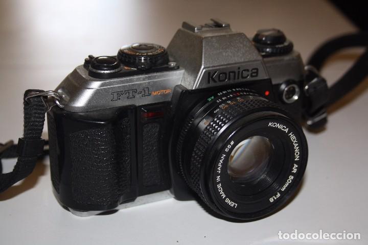KONICA FT-1 MOTOR (Cámaras Fotográficas - Réflex (no autofoco))