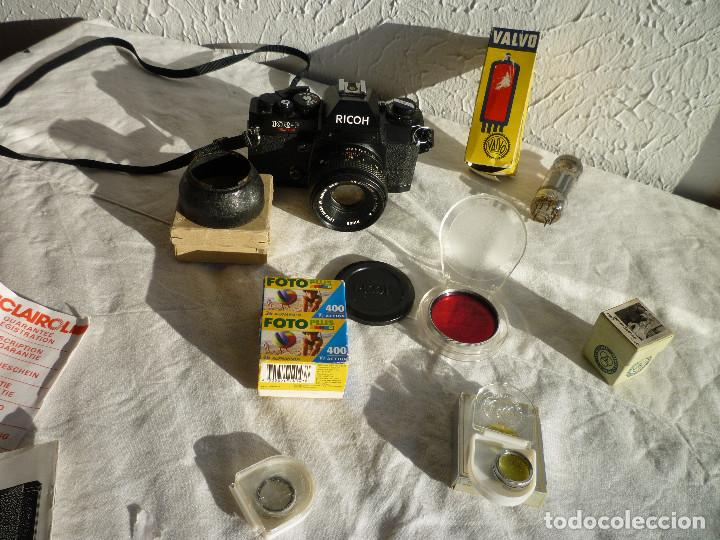 Cámara de fotos: CAMARA RICOH KR 5 SUPER REFLEX ANALÓGICA CON BOLSA 2 CARRETES DE 400 Y UN MONTÓN DE ACCESORIOS - Foto 3 - 73483787