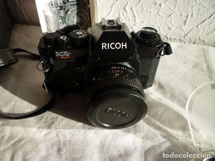 Cámara de fotos: CAMARA RICOH KR 5 SUPER REFLEX ANALÓGICA CON BOLSA 2 CARRETES DE 400 Y UN MONTÓN DE ACCESORIOS - Foto 6 - 73483787