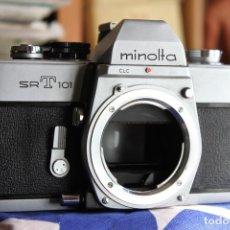 Cámara de fotos: CUERPO MINOLTA SRT-101. Lote 77607141