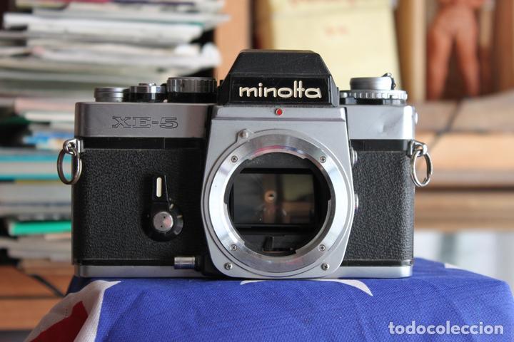 CUERPO MINOLTA XE-5 (Cámaras Fotográficas - Réflex (no autofoco))