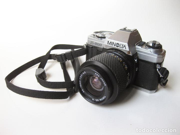 CAMARA REFLEX MINOLTA X-300 BLOQUEADA (Cámaras Fotográficas - Réflex (no autofoco))