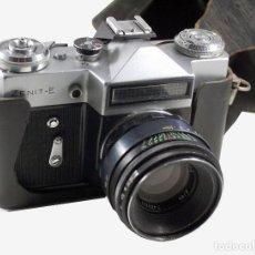 Cámara de fotos: CÁMARA ZENIT E CON HELIOS 44M-2F2-58MM. Lote 79557849