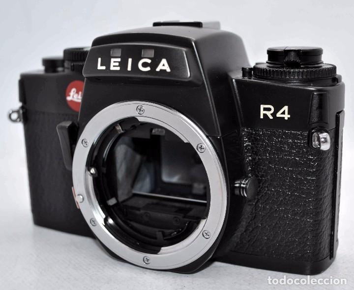 más catálogos indicados Leica R4s Mod 2 electrónico cámara y lente folleto de ventas