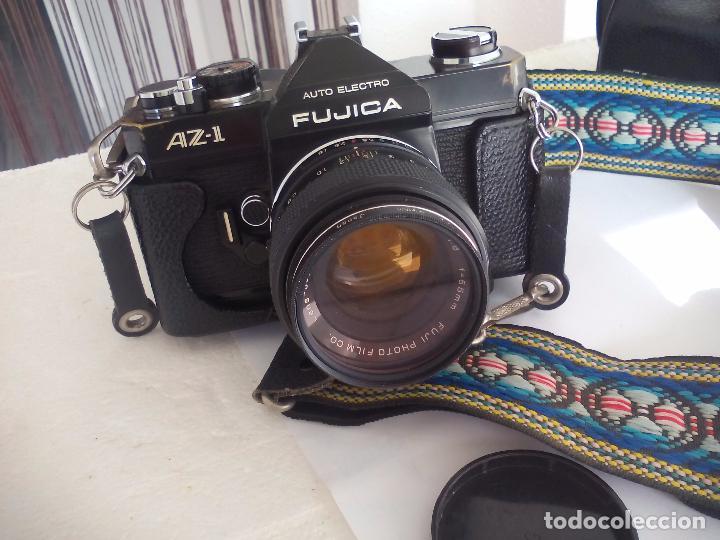 FUJICA AZ-1. OBJETIVO FUJINON 1:18. F= 55 MM. CON SU FUNDA. CÁMARA FOTOGRÁFICA. (Cámaras Fotográficas - Réflex (no autofoco))