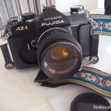 Cámara de fotos: FUJICA AZ-1. OBJETIVO FUJINON 1:18. F= 55 MM. CON SU FUNDA. CÁMARA FOTOGRÁFICA.. Lote 80081577