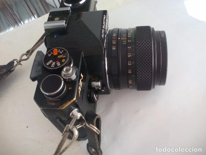 Cámara de fotos: Fujica AZ-1. Objetivo Fujinon 1:18. F= 55 mm. Con su funda. Cámara fotográfica. - Foto 2 - 80081577