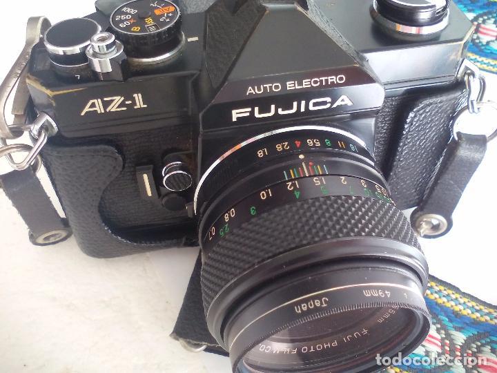 Cámara de fotos: Fujica AZ-1. Objetivo Fujinon 1:18. F= 55 mm. Con su funda. Cámara fotográfica. - Foto 5 - 80081577
