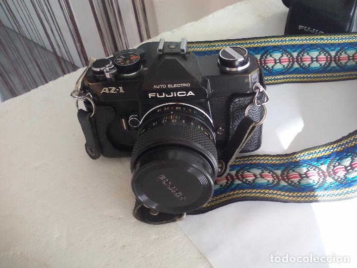 Cámara de fotos: Fujica AZ-1. Objetivo Fujinon 1:18. F= 55 mm. Con su funda. Cámara fotográfica. - Foto 7 - 80081577
