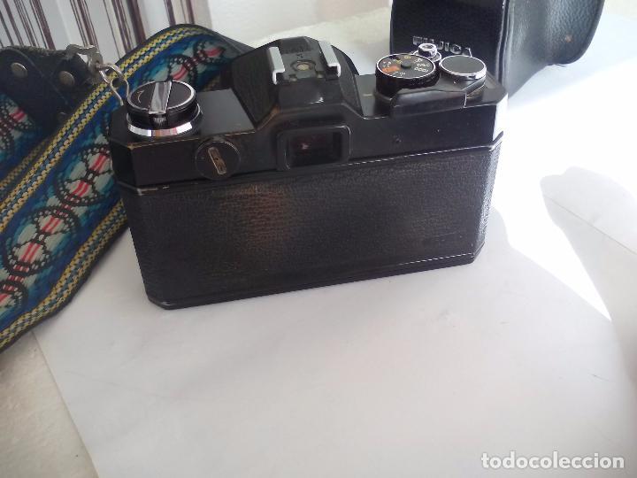 Cámara de fotos: Fujica AZ-1. Objetivo Fujinon 1:18. F= 55 mm. Con su funda. Cámara fotográfica. - Foto 9 - 80081577