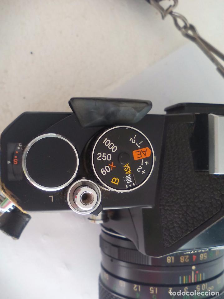 Cámara de fotos: Fujica AZ-1. Objetivo Fujinon 1:18. F= 55 mm. Con su funda. Cámara fotográfica. - Foto 12 - 80081577